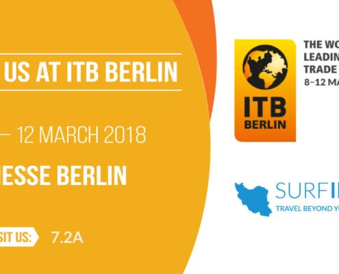 Meet SURFIRAN Team at ITB Berlin Trade Show - 07-11 March 2018, Berlin