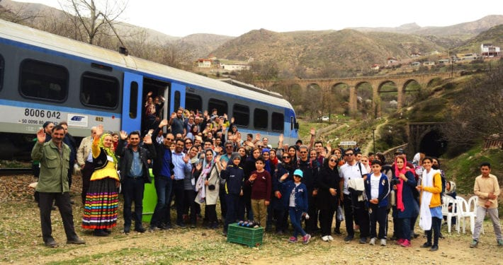 The Trans-Iranian Railway train tour