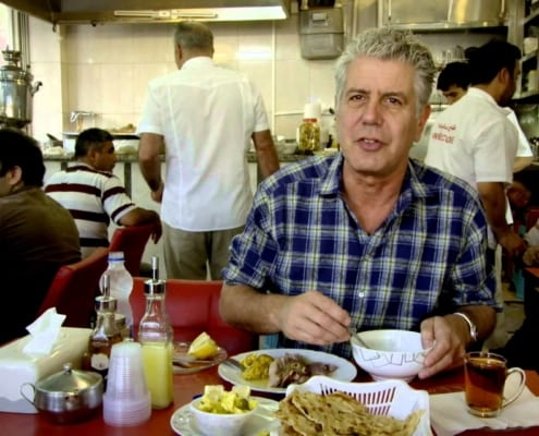 Anthony Bourdain in iran
