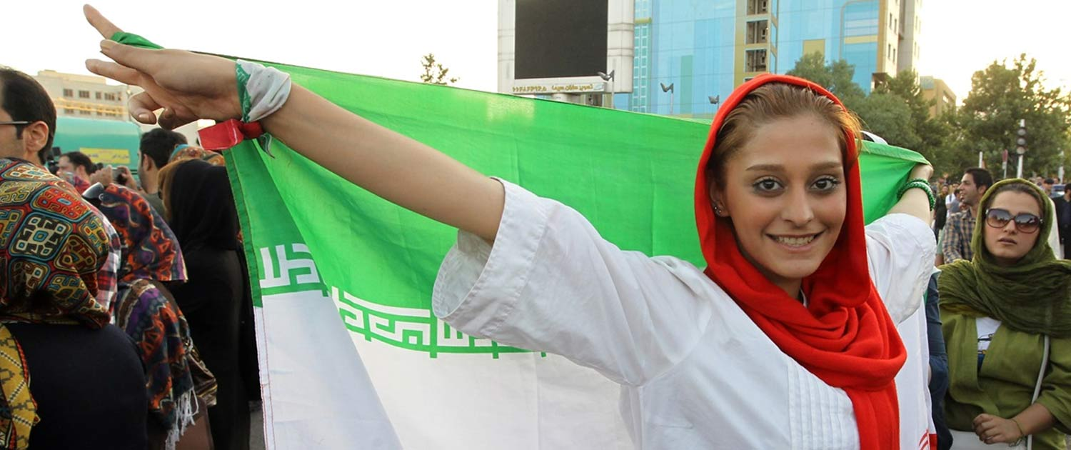 Iranian Fans Celebrate Victory In World Cup