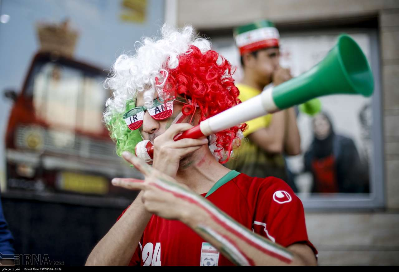 Iranians take to streets to celebrate after team's win