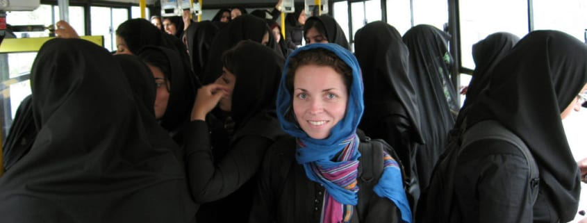Solo travel to Iran