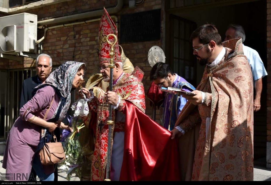 Blessing of the Grapes ceremony in Tehran
