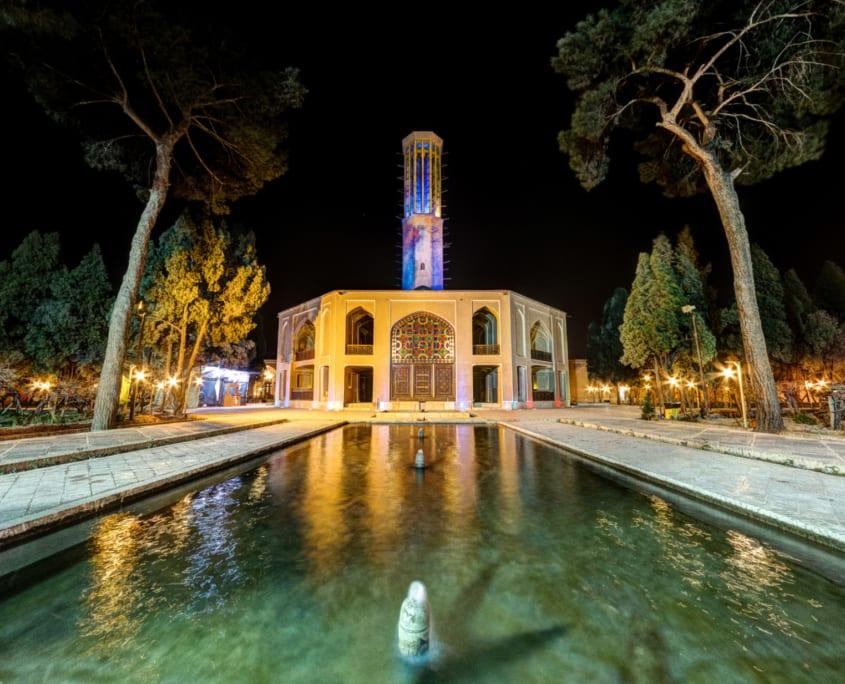 Dolatabad Garden in Yazd