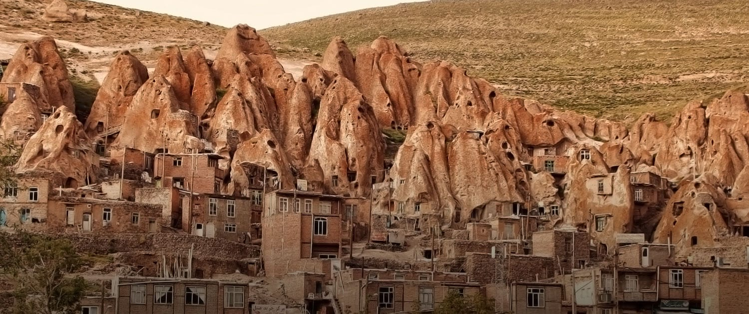 The village of Kandovan, Iran