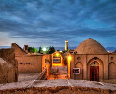 The extraordinary, desert city of Yazd boasts many wonders,