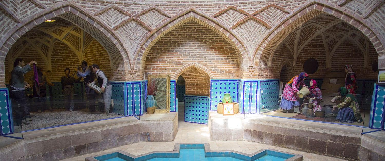 Qajar Bath in Qazvin