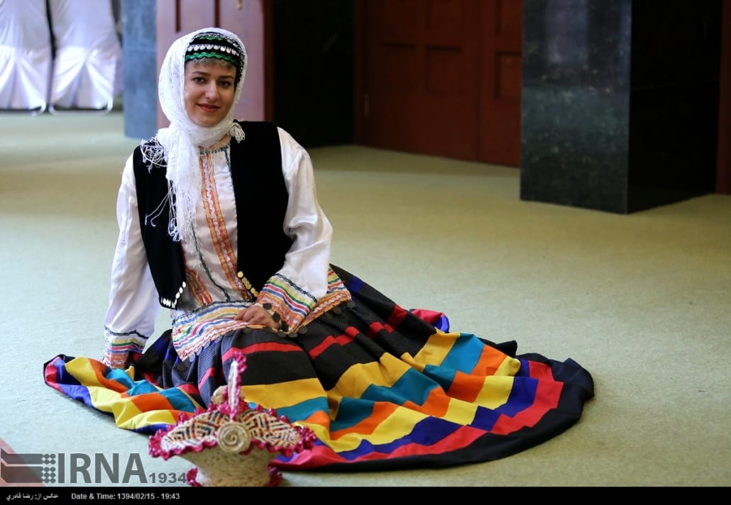 Traditional clothes in Iran