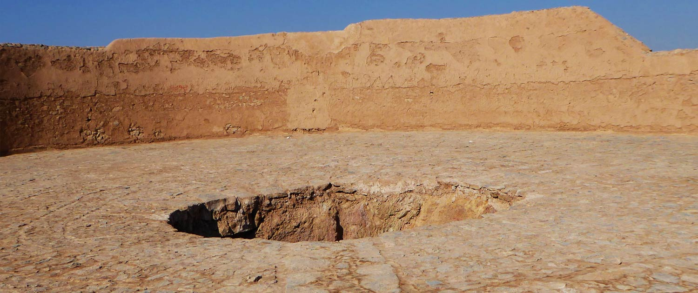 Zoroastrian Towers of Silence in Yazd