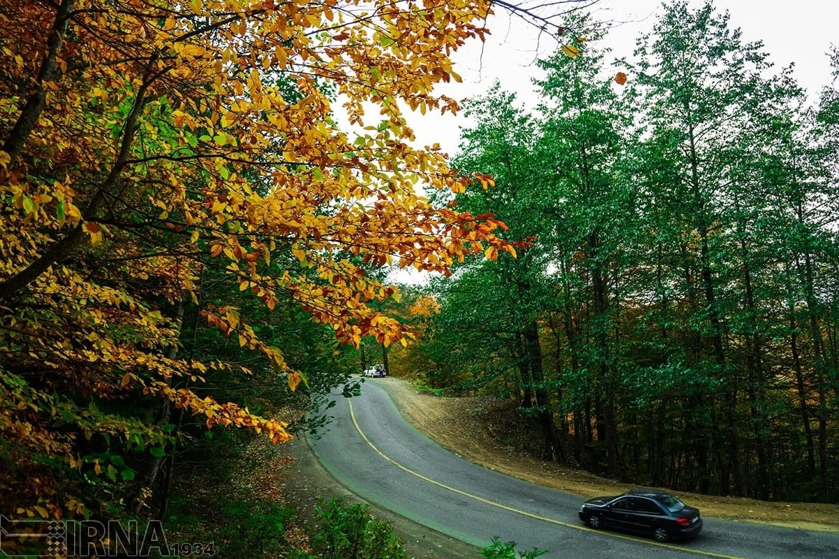 The road from Asalem to Khalkhal, which is 70 kilometres long, is one of the most beautiful routes in Iran.