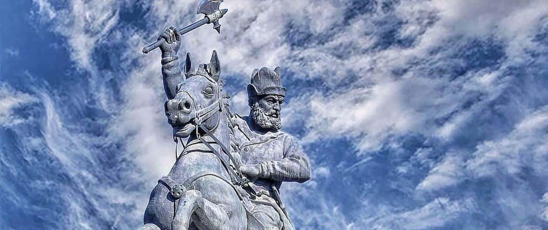 Nader Shah's Sculpture