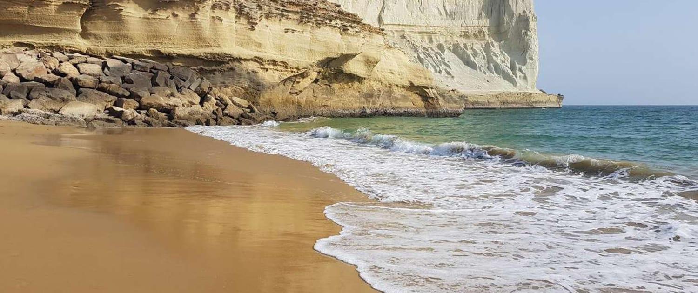 Golden Beach in Chabahar