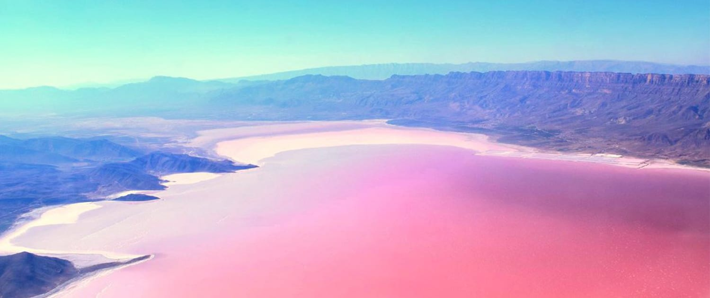 Pink Lake in Shiraz