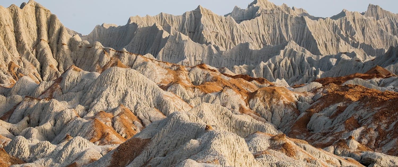 Martian Mountains in Chabahar, Iran