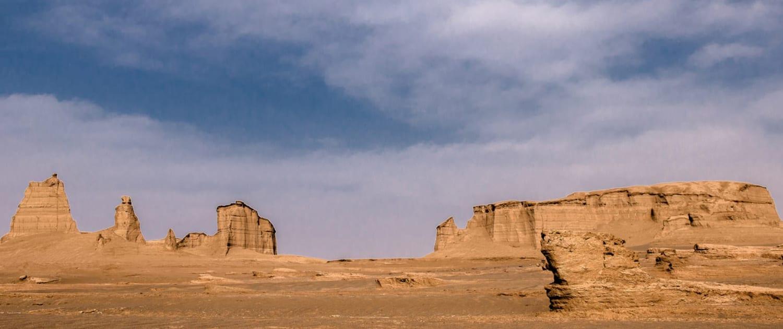 Shahdad Kalouts in Kerman, Iran