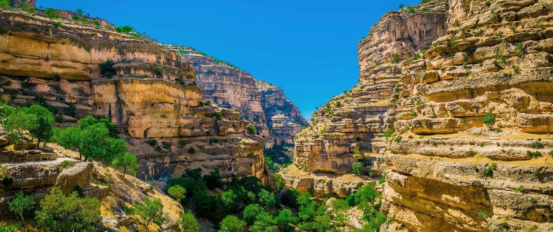 Shiraz Canyon in Lorestan,