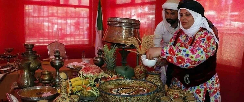 Ardabil's tasty festival