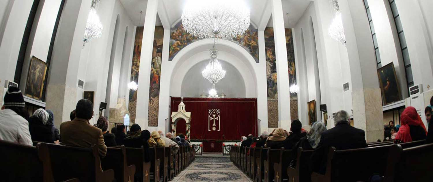 Christians in Tehran, Iran.