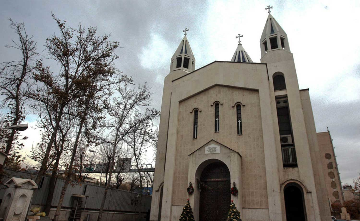 Saint Sarkis Cathedral in Tehran