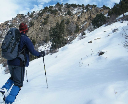 Top 5 off-the-beaten-track winter mountain destinations near Tehran