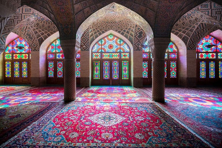 The Nasr Al-mulk Mosque In Shiraz, A Popular Tourist Destination In Iran, Barcroft Media / Getty Images