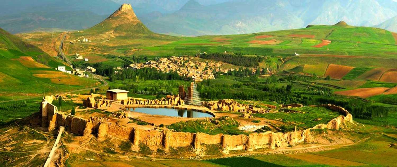Takhte Soleyman  - Iran World Heritage Sites