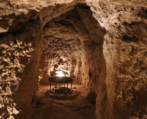 Nushabad – The Mysterious Underground City in Iran
