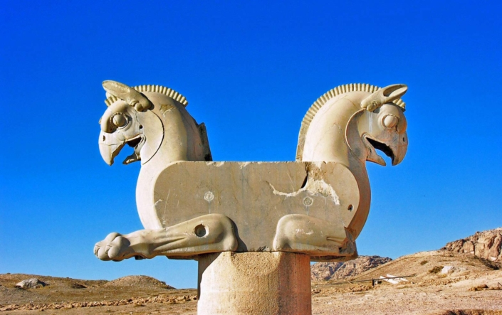 Griffins, Persepolis