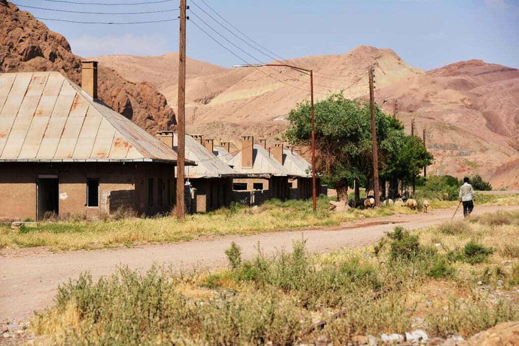 Bon-e Kouh Station, Garmsar