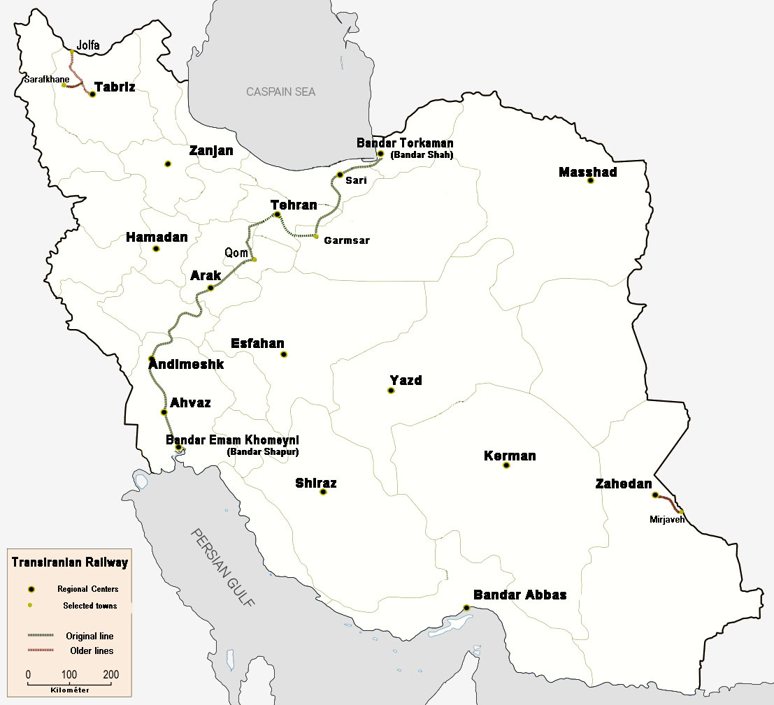 Trans Iranian Railway