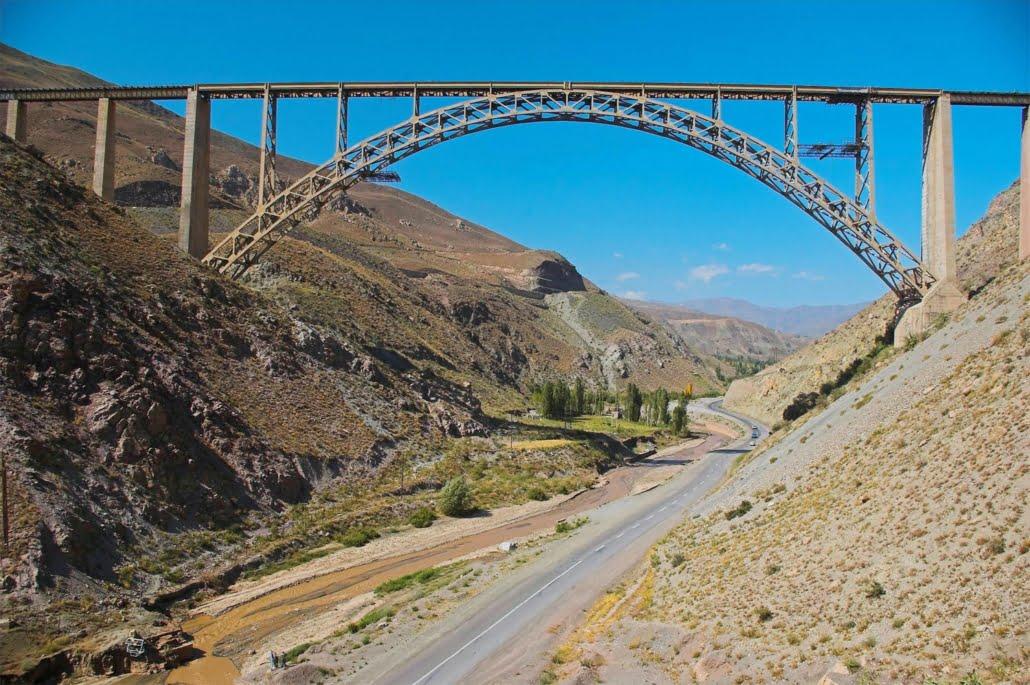 Ghotour Bridge is a railway bridge in Khoy County, West Azarbaijan Province, Iran,