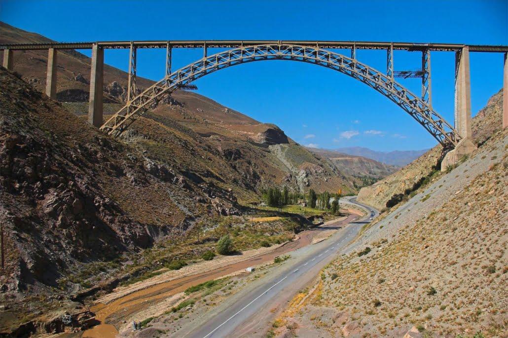 Ghotour Bridge railway bridge in Khoy County, West Azarbaijan Province, Iran