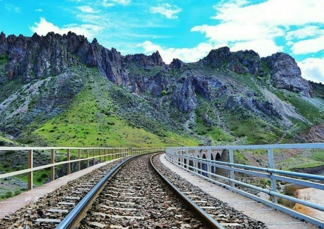 Kaflan-Kuh Railroad Bridge